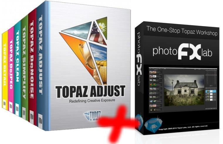 Topaz photoFXlab v1.2.5+Topaz Photoshop Plugins Bundle 2013