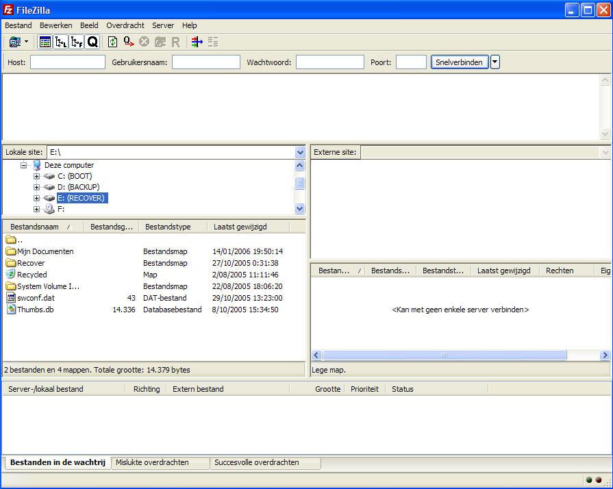 Скриншоты к FileZilla Client 3.30.0
